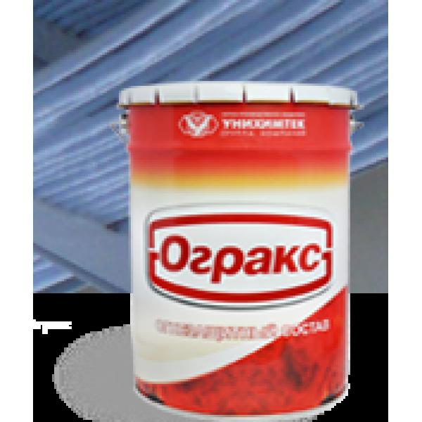 Огракс-ВВ огнезащитная терморасширяющаяся в/д краска для кабеля ведро 15 кг (цена 1 кг)