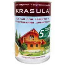 «KRASULA» защитный состав Красула фасовка: 0,95/3,3/11 кг